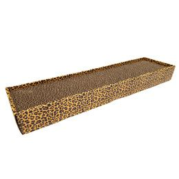 CARTON HOMEDECOR ANIMALIER LEOPARD CROCI