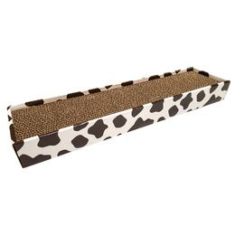 CARTON HOMEDECOR ANIMALIER COW CROCI